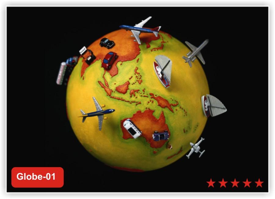 картинки с глобусом и самолетом