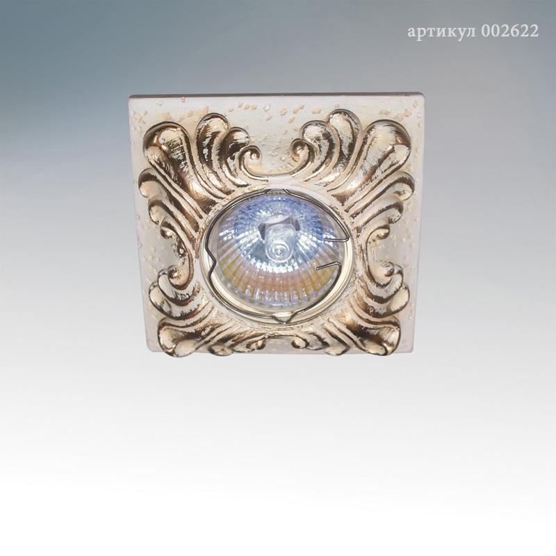 Встраиваемый светильник fametto peonia dls-p201-2001
