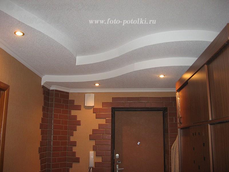 Ремонт в прихожей потолок